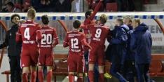 Almere City FC blijft nuchter onder tweede plaats