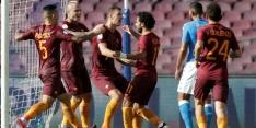 Dzeko loodst Roma langs Napoli en naar plek twee