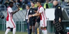 Traoré ontbreekt bij Ajax; kansen voor El Ghazi