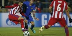Groep D: Atlético wint met minimale cijfers bij Rostov