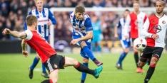 Feyenoord niet langs Heerenveen in spannende topper
