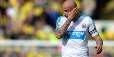 'Shelvey breekt hand tijdens ruzie bij Newcastle United'
