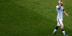 Messi helpt Argentinië in kraker, Brazilië ruim langs Uruguay