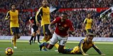 Man United geeft zege uit handen tegen tandeloos Arsenal