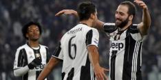 Koploper Juventus heeft geen moeite met Pescara