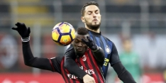 Perisic voorkomt in blessuretijd nederlaag Inter tegen Milan