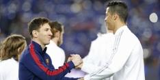 Messi eindelijk weer tegen Ronaldo; veel Nederlanders in de basis