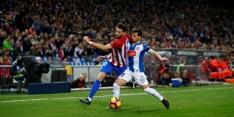 Geen doelpunten in duels Atlético Madrid en Villarreal