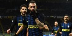 Brozovic schiet Internazionale naar zege op Genoa