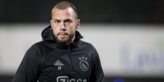 Ajax O19 pakt in slotfase knap punt tegen Bayern München O19