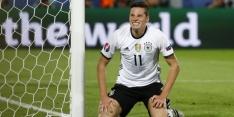 Draxler draagt voorlopig de aanvoerdersband bij Duitsland