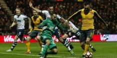 Arsenal voorkomt blamage tegen Preston in slotfase
