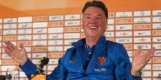 Zo zagen vorige voorbereidingen van het Nederlands elftal eruit