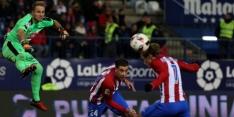 Atlético heeft ticket voor halve finale al bijna binnen
