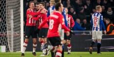 PSV wint knotsgek duel ondanks drie goals van Reza
