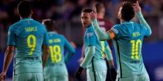 FC Barcelona volgt met ruime winstpartij bij Eibar