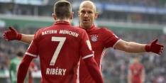 Robben scoort voor Bayern, eerste verlies Hoffenheim