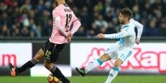 Mertens voorkomt nederlaag Napoli tegen Palermo