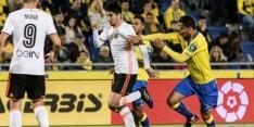 Valencia gaat onderuit op bezoek bij Las Palmas