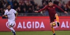 Strootman helpt Roma ontsnappen, ook Fiorentina worstelt