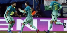 Fraaie goals helpen Barça langs Atlético in heenduel