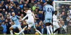 Jesus redt Manchester City in blessuretijd tegen Swansea