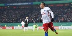 Sprookje Walldorf eindigt na penalty's, HSV in kwartfinale