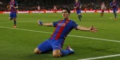 """Suárez krijgt rood: """"Was niet eens een overtreding"""""""