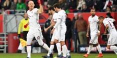 Bayern wint in extremis, achtervolgers maken misstap