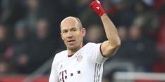 """Robben geeft tegenstander compliment: """"Hard gestreden"""""""