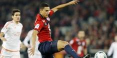 El Ghazi maakt eerste goal voor Lille, weer rood Balotelli