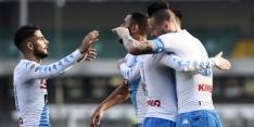 Napoli blijft in het spoor van Juventus na zege op Chievo