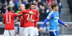 HSV weer kanonnenvoer voor Bayern, concurrentie wint ook