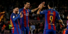 FC Barcelona zonder problemen langs laagvlieger Gijón