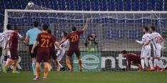 AS Roma heeft niets aan goal Strootman, ManU wel door