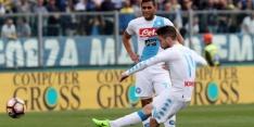 Vrije trap Mertens helpt Napoli aan winst tegen Empoli
