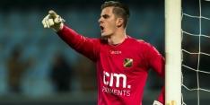 FC Twente legt doelman Brondeel voor vier jaar vast