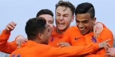 Oranje onder 19 kwalificeert zich voor EK in Georgië