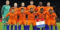 Het rapport van het Nederlands elftal tegen Italië