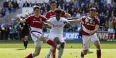 Swansea en Middlesbrough scoren niet in degradatieduel