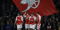 Arsenal weet weer wat winnen is, De Roon trefzeker