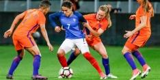 Oranje Leeuwinnen verliezen oefenduel van Frankrijk