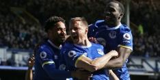 Everton doet goede zaken, puntenverlies voor Leicester