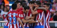 Atlético wint ondanks twee gemiste penalty's van Osasuna