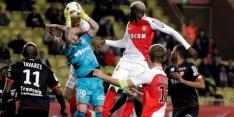 AS Monaco wint nipt van Dijon, El Ghazi met Lille onderuit