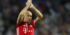 Bayern München verwacht Robben binnen paar weken terug