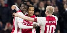 Ajax start met Traoré, De Ligt en Kluivert, Dolberg wissel