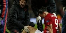 ManU bevestigt: zware blessures voor Zlatan en Rojo