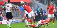 Bayern moeizaam naar remise, Kruse maakt er vier