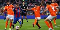Barcelona geeft na Clásico show weg tegen hekkensluiter